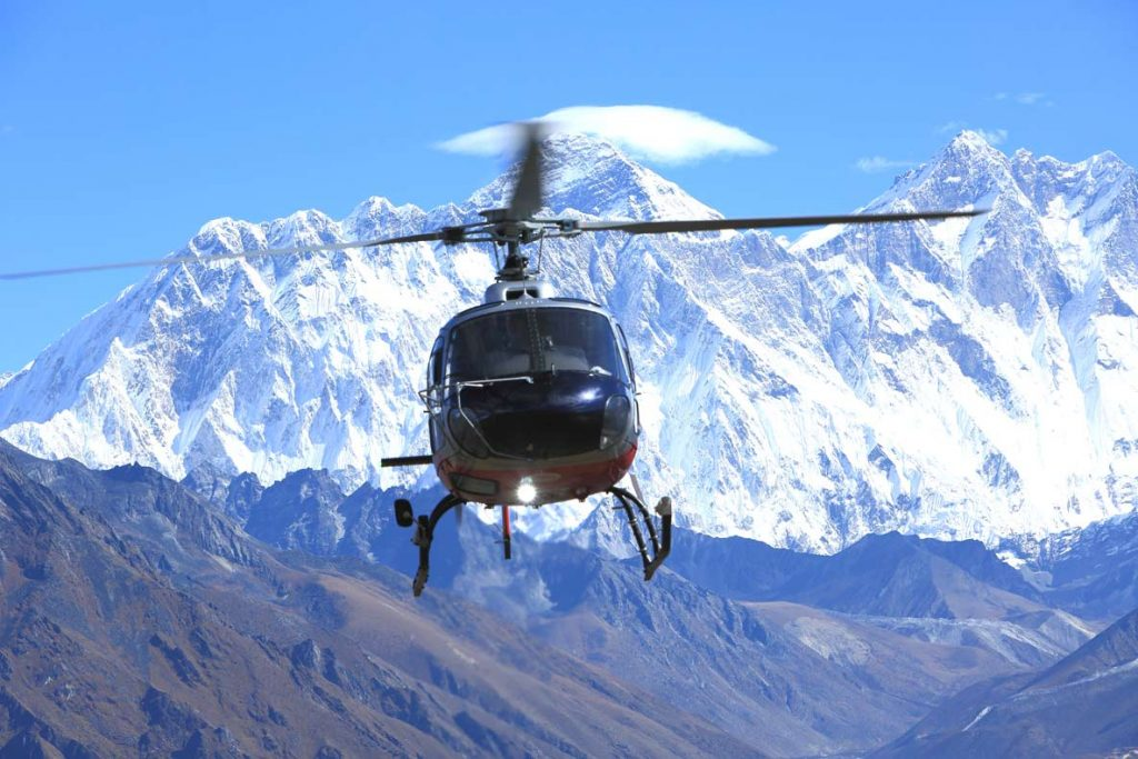 Shared Helicopter Tour For Everest Base Camp